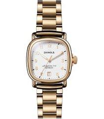 women's shinola the guardian bracelet watch, 36mm