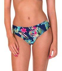 bikini lisca hoge taille zwempakkousen florida marineblauw
