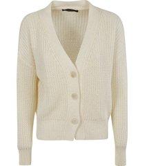 fabiana filippi v-neck knitted classic cardigan