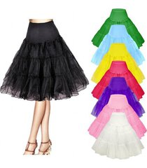 "26"" retro underskirt/50s swing vintage petticoat/rockabilly tutu/fancy net"