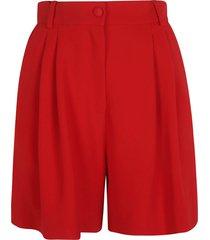 dolce & gabbana classic plain shorts