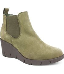 cliffs by white mountain percy wedge booties women's shoes