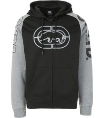 ecko unltd men's sew me up full zip hoodie