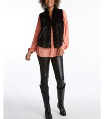 adyson parker women's sherpa vest jacket