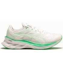 asics sneakers novablast colore bianco