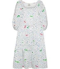 elsa dress knälång klänning vit ivana helsinki