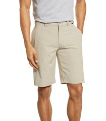 men's travismathew kendo performance shorts, size 36 - beige