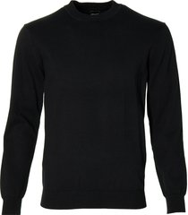 city line by nils pullover - slim fit - zwart