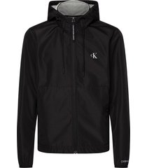 zip capp. jacket nylon / jersey