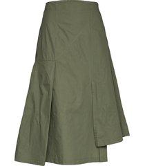 nanita skirt knälång kjol grön just female