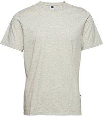 pima plain tee 3208 t-shirts short-sleeved grå nn07