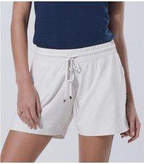 shorts liz easywear feminino - feminino