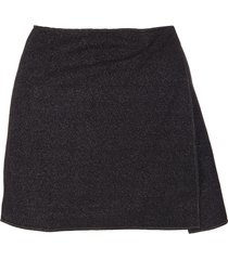 oseree black lumiere skirt