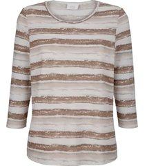 shirt paola ecru::beige::bruin