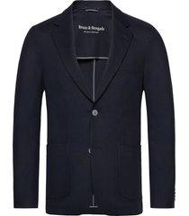 bs molise tailored blazer colbert blauw bruun & stengade