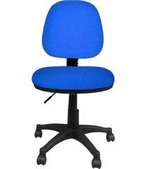 silla  addequar  platina media   azul reina -2051