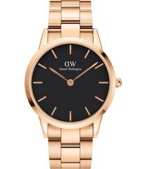 women's daniel wellington iconic bracelet watch, 40mm
