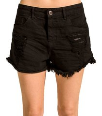 shorts alphorria sarja destroyed preto