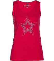 top con strass (rosso) - bpc selection