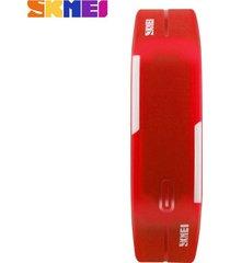 pulsera impermeable led para hombres y mujeres-rojo