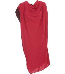 asymmetric dress on one sleeve