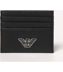 emporio armani wallet emporio armani card holder in synthetic leather