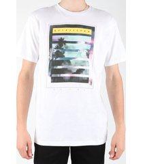 t-shirt korte mouw quiksilver eqyzt00013-wbb0