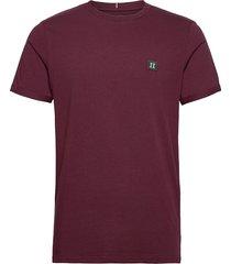piece t-shirt t-shirts short-sleeved röd les deux