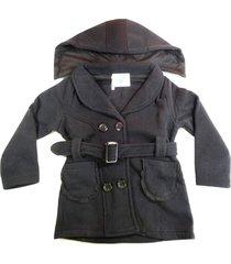 blusa casaco moletom flanelado grosso bebe infantil 1, 2 e 3 preto