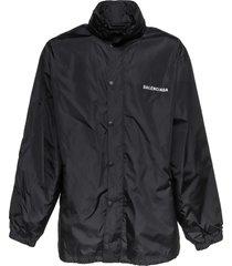 balenciaga balenciaga défilé rain jacket