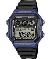 reloj deportivo kcasae 1300wh 2a casio -negro