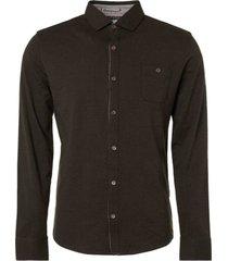 donkergroen heren overhemd no excess - 921410908 059