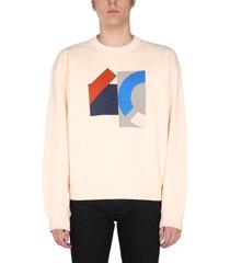 kenzo flag print sweatshirt
