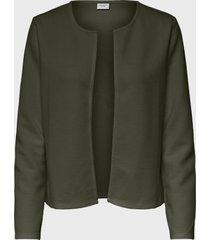 blazer  jacqueline de yong verde - calce regular