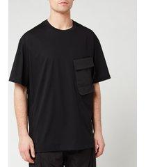 y-3 men's travel short sleeve t-shirt - black - l