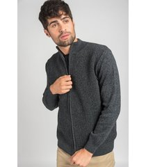 sweater negro oxford polo club fred