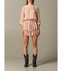 zadig & voltaire dress zadig & voltaire dress in floral patterned jersey