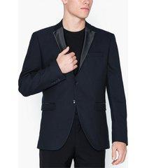 selected homme slhslim-tigalogan navy tux blz b kavajer & kostymer mörk blå