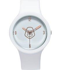 pack reloj  correa adicional blanco/rosa gorillaz