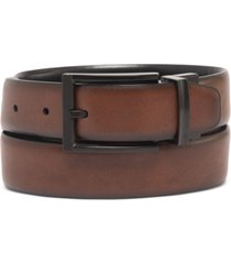 alfani men's tonal-buckle belt, created for macy's