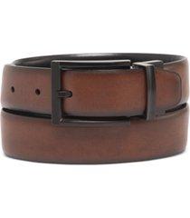 alfani men's tonal-buckle belt, created for macy's