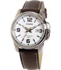 reloj casio pulsera en cuero ref. ltp-1314l-7a