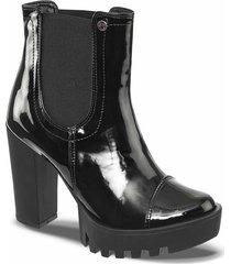 botines anete negro para mujer croydon