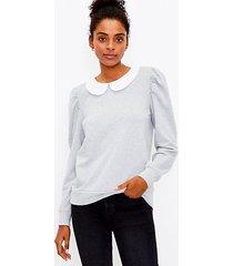 loft collared sweatshirt