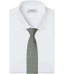 cravatta su misura, lanieri, incastro verde, quattro stagioni | lanieri