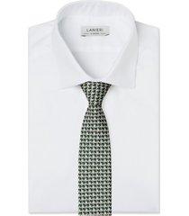 cravatta su misura, lanieri, incastro verde, quattro stagioni