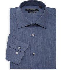 regular-fit textured dress shirt