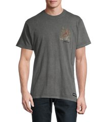 banks journal men's jared mell a curated collection tiger graphic t-shirt - grey - size s