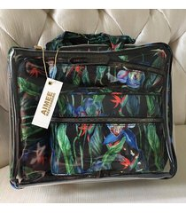 aimee kestenberg 4-piece set  midnight orchid t00105 cosmetic bag
