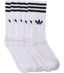 sportstrumpor solid crew sock 3-pack